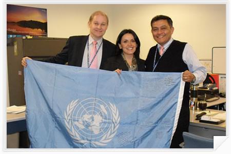 DPKO-ITS. Naciones Unidas, Nueva York 2010